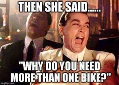We will never have enough bikes, will we? #motorcycle