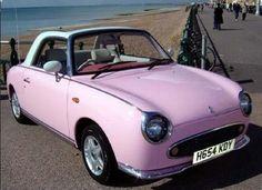 nissan figaro pink 1991