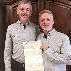 John Smid has married his same-sex partner