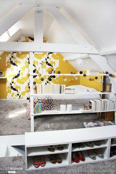 Avant/après : notre chambre à coucher sous les combles, , Fanny M. - user