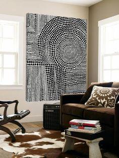Loft Art: Clustered Dots B by Natasha Marie : Diy Wall Art, Diy Art, Arte Shop, Quilt Modernen, Dot Painting, Aboriginal Painting, Encaustic Painting, Framed Artwork, Large Artwork