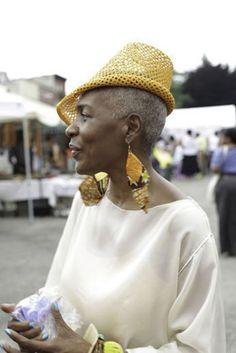 Greta Wallace, fashion designer from Brooklyn NY