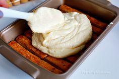 Simple Tiramisu « Dessert « Zoom Yummy – Crochet, Food, Photography No Cook Desserts, Italian Desserts, Summer Desserts, Easy Desserts, Dessert Recipes, Easy Tiramisu Recipe, Tiramisu Dessert, Chocolate Chip Recipes, Mint Chocolate Chips