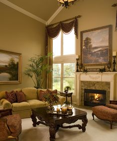 Traditional living room. Dazzling Designs, LLC Donna Brown - Northville, MI