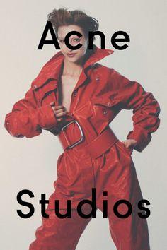 Campaign: Acne Studios F/W 2016   Lera Abova by David Sims.    #campaign#acne#acnestudios#acnestudiosfw16#lera abova#david sims#fashion