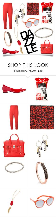 """""""Be a girl with a mind"""" by emmamegan-5678 ❤ liked on Polyvore featuring Repetto, Dolce&Gabbana, P.A.R.O.S.H., Givenchy, 3.1 Phillip Lim, Vanessa Mooney, Kenneth Jay Lane, Monica Vinader, Kendra Scott and Quay"""