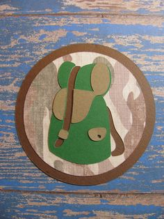 Campin Critters Badge - Backpack