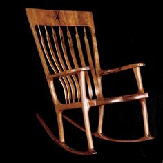 """Fine, hand-crafted furniture and heirloom rocking chairs: Austin Mesquite Works"""""""