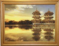 Китайская архитектура 1101324: цена, фото, купить в Украине, Киеве, Харькове, Днепропетровске, Одессе, Львове