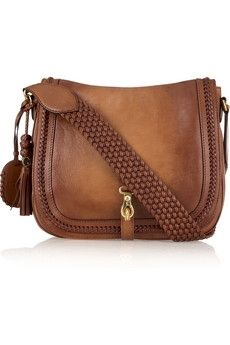 Gucci | Leather messenger bag | NET-A-PORTER.COM - StyleSays