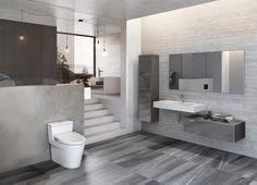 Whispered Graphite 12x24 Floor - Portland Direct Tile & Marble