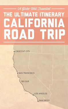 The ultimate itinerary for a California coast road trip - Crescent City, San…