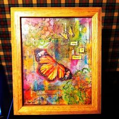A thing of beauty in tabletop frame by Kellydoodle on Etsy, $45.00