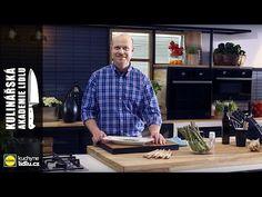 Jak uvařit zelený chřest - Roman Paulus - Kulinářská Akademie Lidlu - YouTube Lidl, Asparagus, Sauces, Roman, Button Down Shirt, Men Casual, Youtube, Mens Tops, Studs