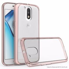 GKK High Quality Crystal Clear Cover Phone Case for Motorola Moto G4 Plus G 4 cases telefone Anti-knock G4 phone fundas Covers