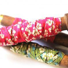 Liberty Mitsi Stitched Ribbon