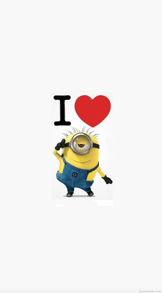1080x1947 ... i-love-minions-cartoon-mobile-wallpaper-1080x1920-2446- ...