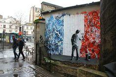 #streetart Paris, França