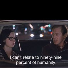 Ghost world (2001) (Thora Birch + Steve Buscemi)  Because I can only relate to my sister ...
