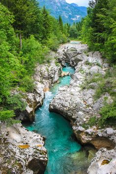 Soca valley, Slovenia