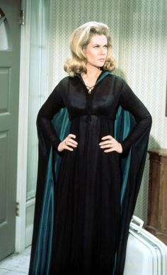 The very friendly and lovely witch in black - Elizabeth Montgomery