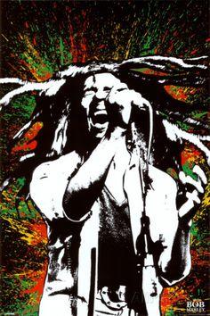 Bob Marley. #musica #Fotografia #posters