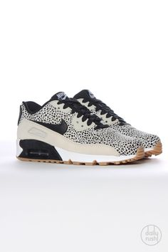 Product detail: Nike WMNS Air Max 90 Premium Safari - white/black (2)