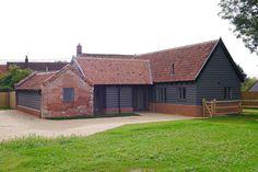 Timber frame barns Suffolk