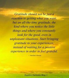 attitude of gratitude.....