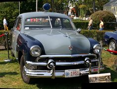 1951 Ford Massachusetts State Police car