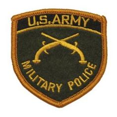 Army Military Police Patches