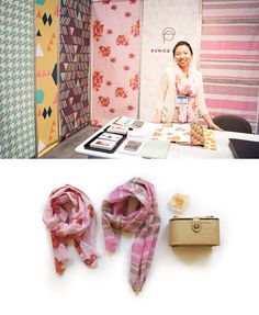 Eunice Parks, Surtex 2012 | Love the simplicity of this booth