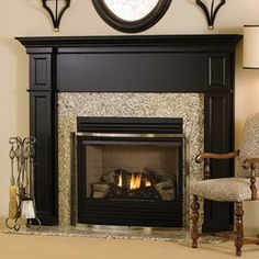The contrasting textures on the Bennington fireplace mantel were a popular theme in home decorating this year. http://www.mantelsdirect.com/mantel-blog/Predicting-the-2014-Fireplace-Mantel-Trends