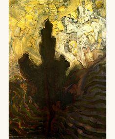 Trees I' - Piet Mondrian (1872-1944).