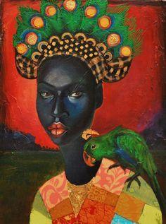 Artwork by Jamaican artist Tamara Natalie Madden