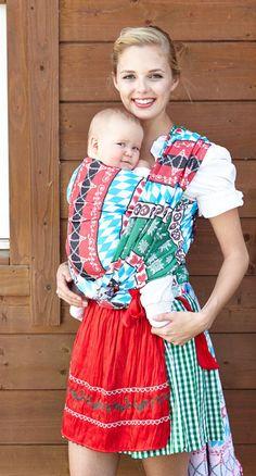 kokadi baby wrap Oktoberfest - 100%cotton