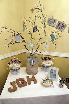 más y más manualidades: Decora tu fiesta con un árbol de los deseos