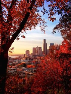 #Autumn in #Seattle #USA http://en.directrooms.com/hotels/subregion/10-193-3703/