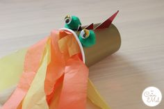 Paper Cup Dragon - 10 Minute Crafts - Chinese New Year Activity