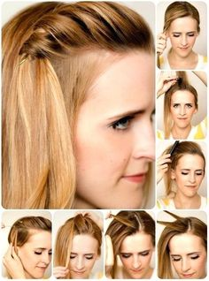 Frisuren fur die schule mittellange haare