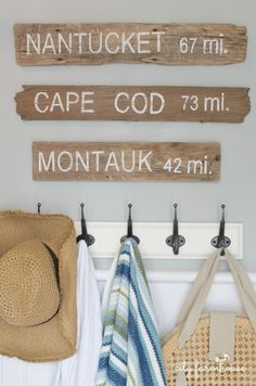 New England Cape Cod style home. Nantucket, Cape Cod, Montauk decor styling                                                                                                                                                      More
