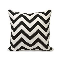 The chevron pattern is a mainstay of Art Deco design, and one glance at this pillow makes it easy to see why. Whether you need to add an energetic accent to your sofa or want to make your bed even cozier, this pillow will shine.