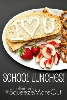Looking for a fun way to make your kid's school lunches? Try writing a fun mayo message!