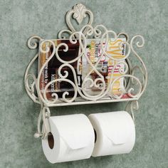 Bathroom Magazine Rack Decoration