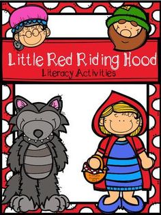 Little Red Riding Hood from PrintablePrompts on TeachersNotebook.com -  (40 pages)  - Little Red Riding Hood literacy activities