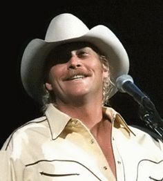 Alan Jackson - I have to meet him before I die even though when I do I might have a heart attack right then.