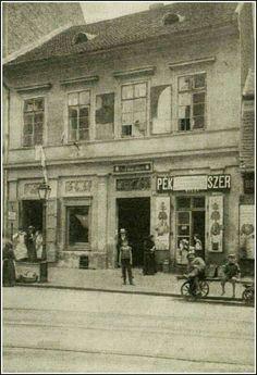 1908. Borsajtó ház, Irányi utca 21.