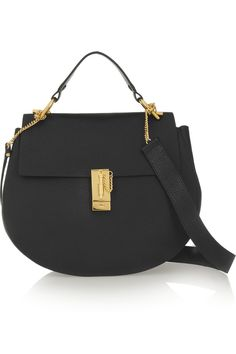 Chloé | Drew medium textured-leather shoulder bag | NET-A-PORTER.COM