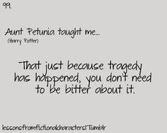 Petunia taught me