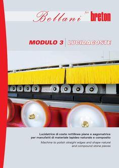 Modulo 3 Bellani - polishing edge machine